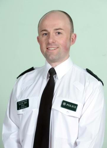Chief Inspector  Simon Ball